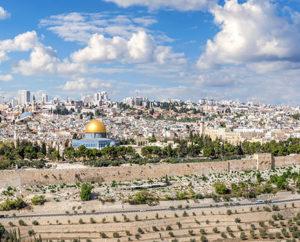 SKIING MY WAY THROUGH JERUSALEM
